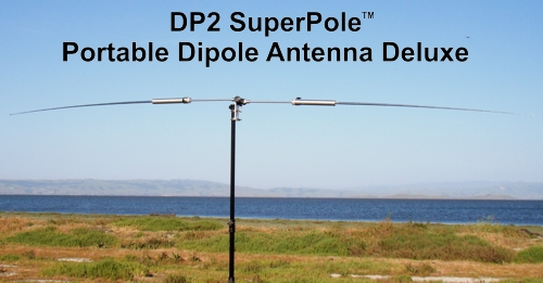 DP2 SuperPole - Portable Dipole Antenna Deluxe