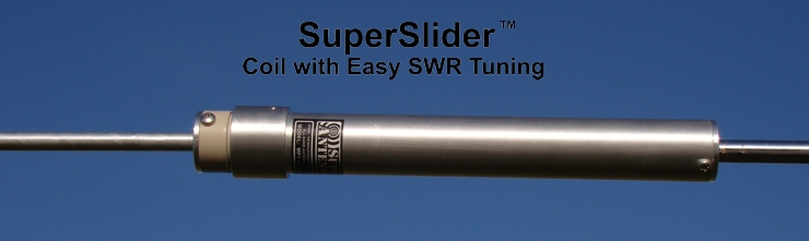 SuperSlider - Coil with Easy SWR Tuning