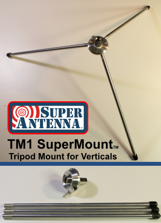TM1 SuperMount Tripod for Verticals - Low Profile